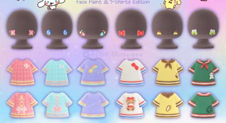 Collection Sanrio : maquillage et habits